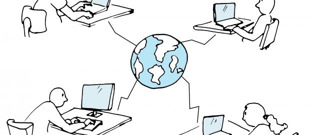 Online communication during fieldwork