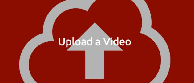 Skærmbillede upload video