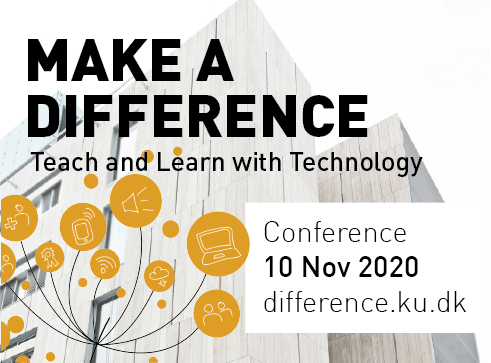 Conference: Make a Difference 10/11 2020